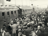 Almanya'ya işçi taşıyan ilk tren